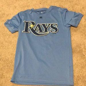 Tampa Bay Rays Majestic Shirt